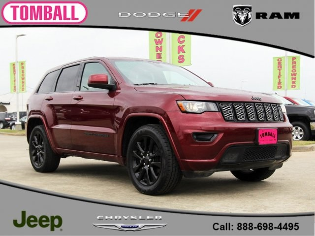 Certified Pre Owned 2017 Jeep Grand Cherokee Alude