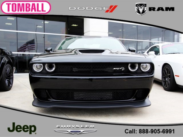 New 2018 Dodge Challenger Srt Hellcat Coupe In Tomball H327546